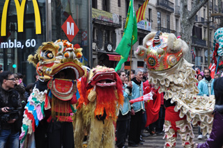 chinese new year barcelona