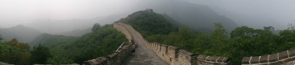 great wall at beijing